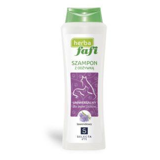 szampon z odżywką dla psa lawendowy fafi