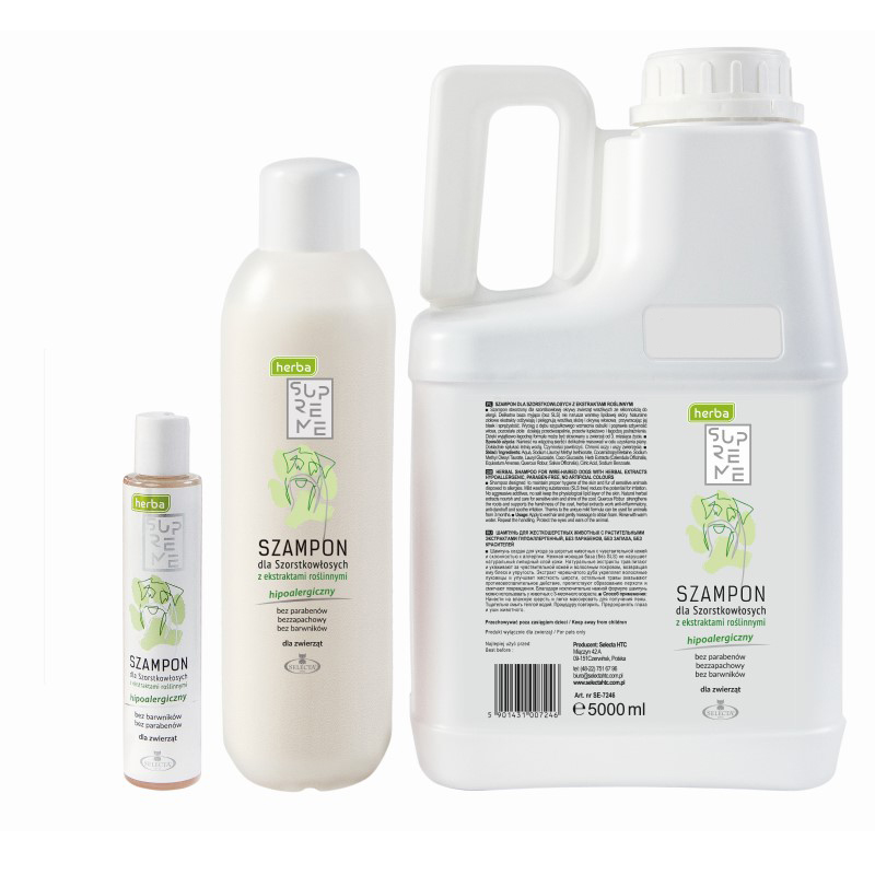 szampon dla psów szorstkowłosych koncentrat